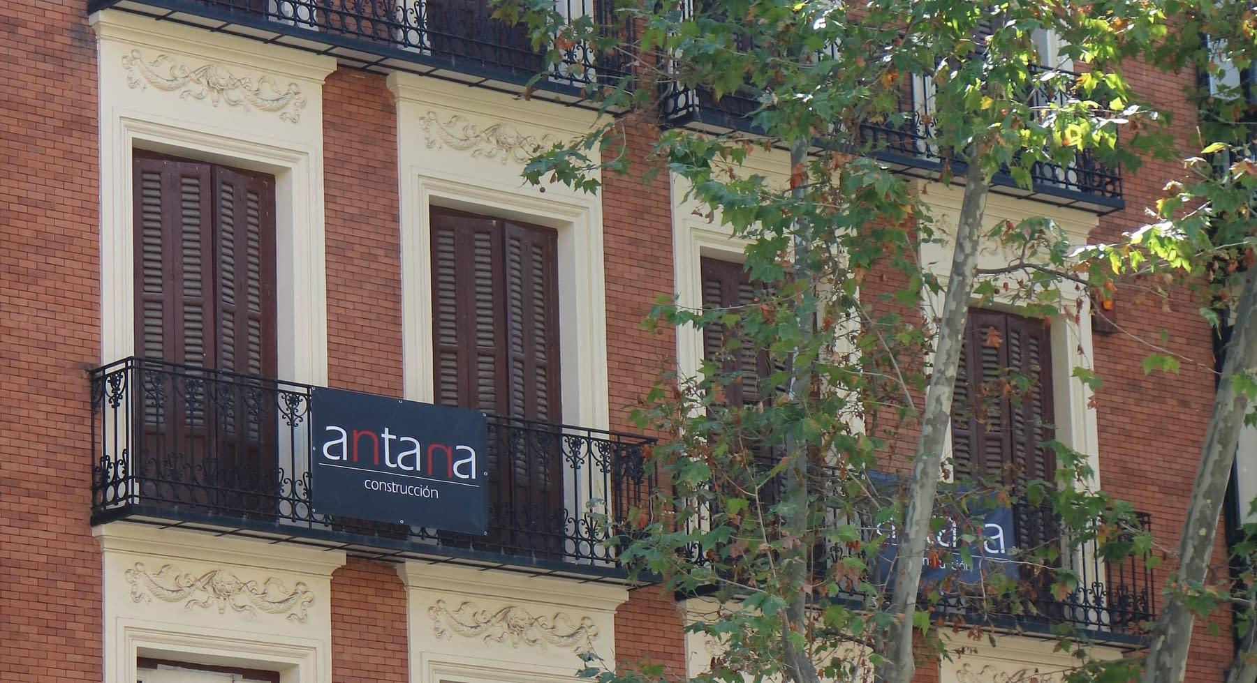 , Antana comienza la segunda fase de la rehabilitación del edificio situado en la calle Antonio Maura 8.