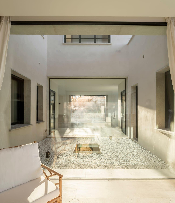 Detalle construcción vivienda unifamiliar en La Florida, Madrid 3