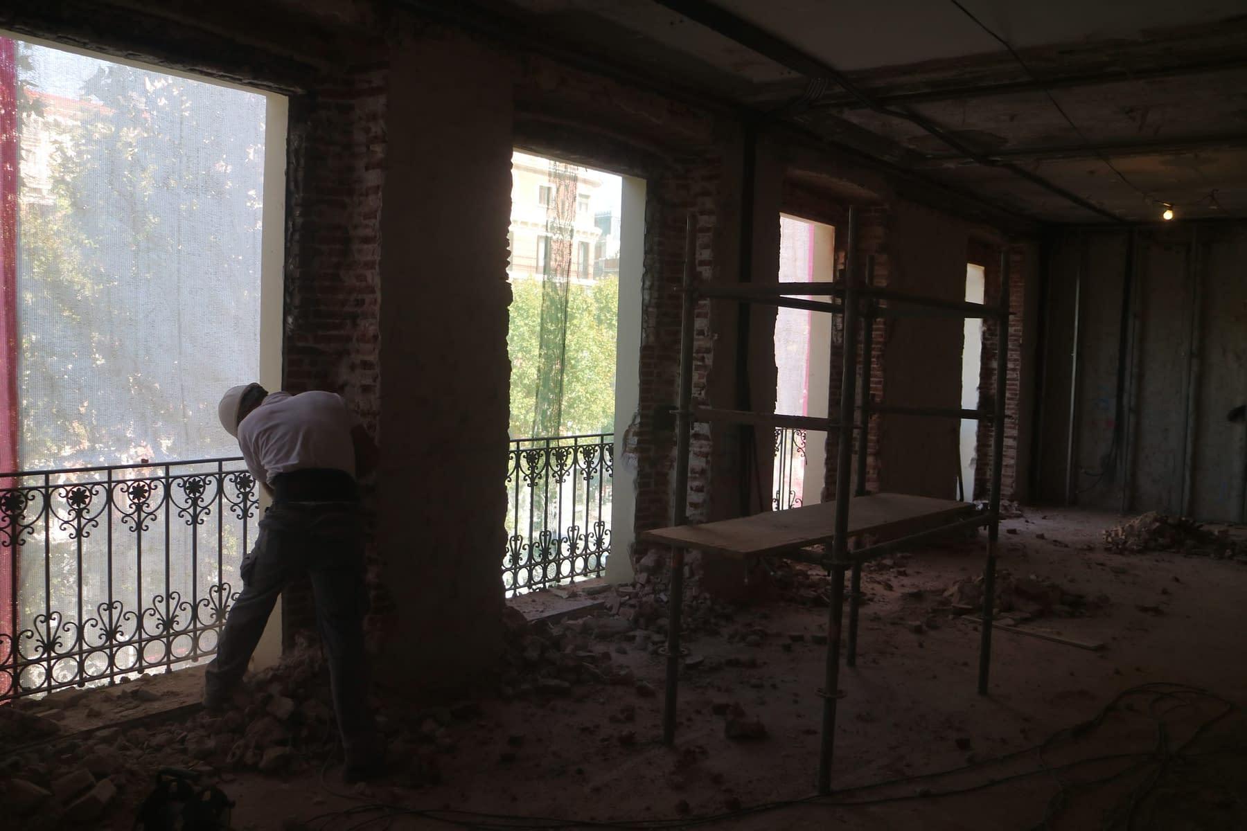 Rehabilitación integral edificio madrid Antonio Maura 8 (20)