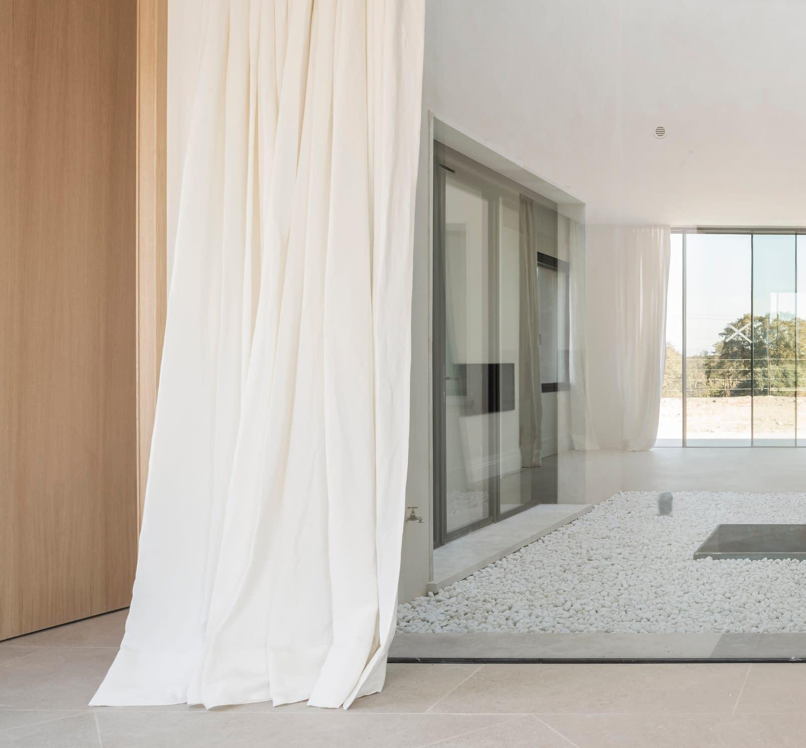 Detalle construcción vivienda unifamiliar en La Florida, Madrid 2