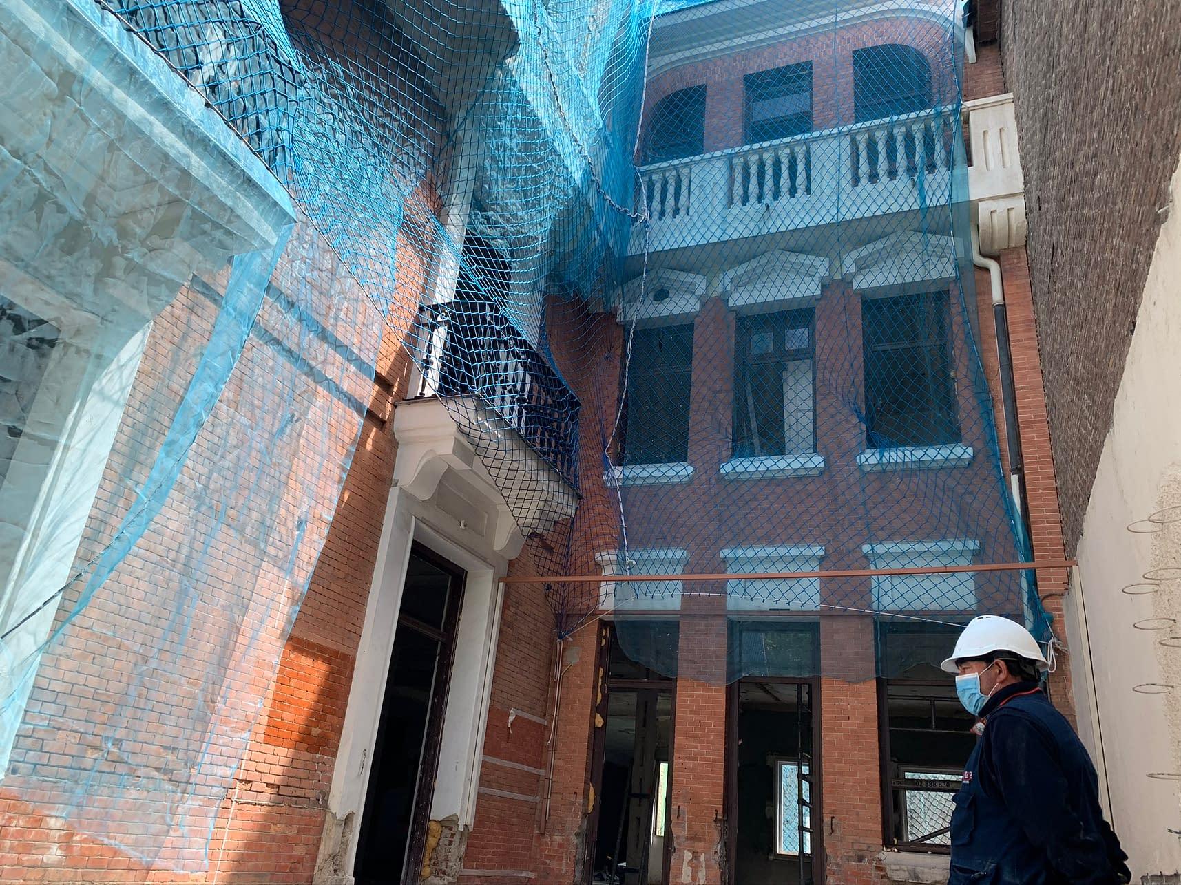 Rehabilitación integral edificio Marqués de Salamanca 11 (1 (97)