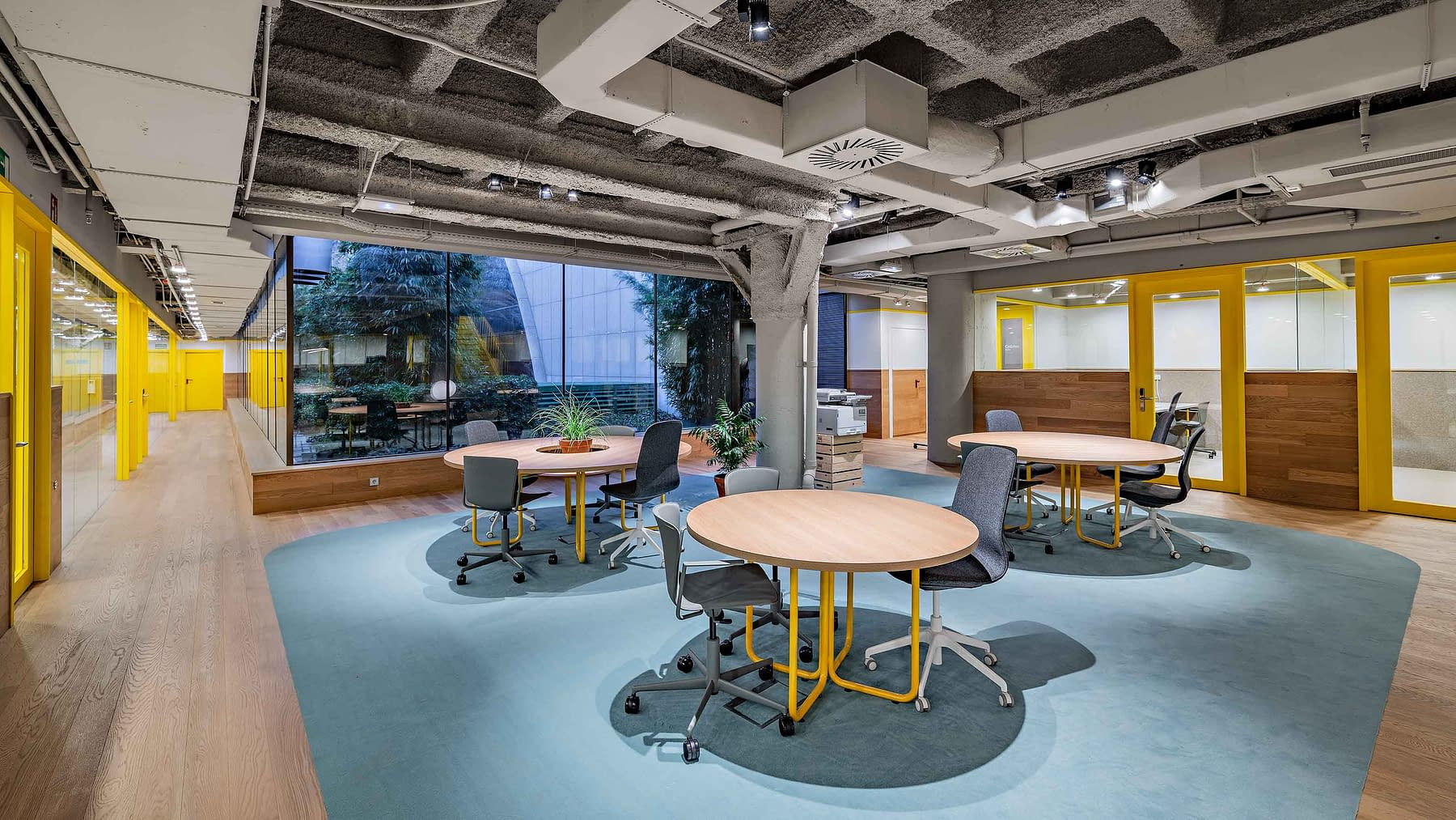 Reforma e implantación oficinas coworking Madrid (8)