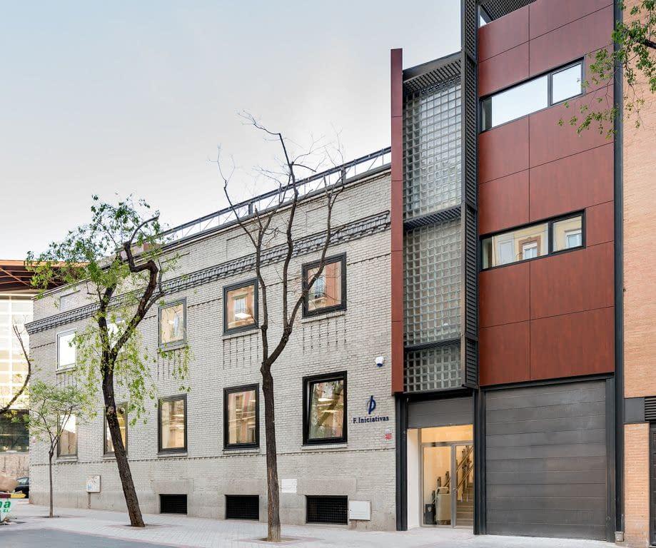 Rehabilitación de edificio de oficinas Antana