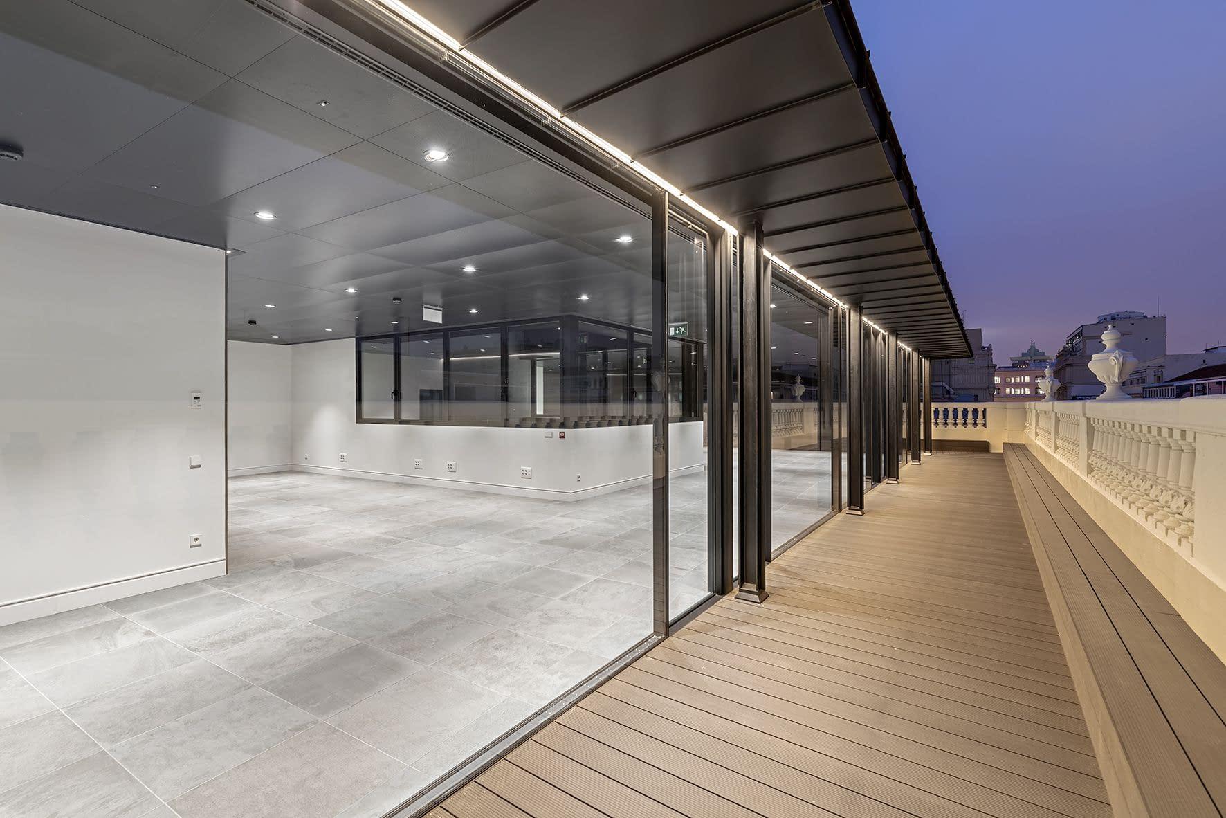 Rehabilitación edificio Antana terraza