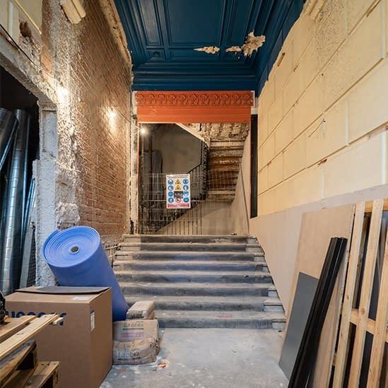 Rehabilitación integral de edificio de viviendas en el barrio de Los Jerónimos (1)