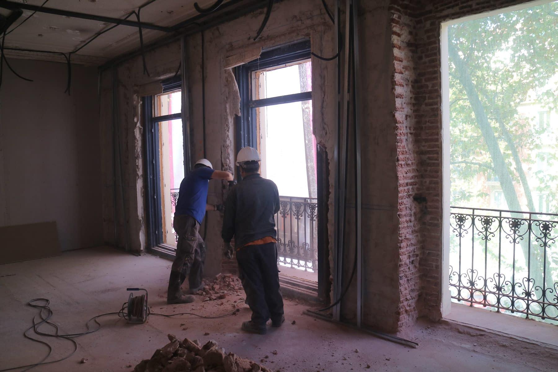 Rehabilitación integral edificio madrid Antonio Maura 8 (9)
