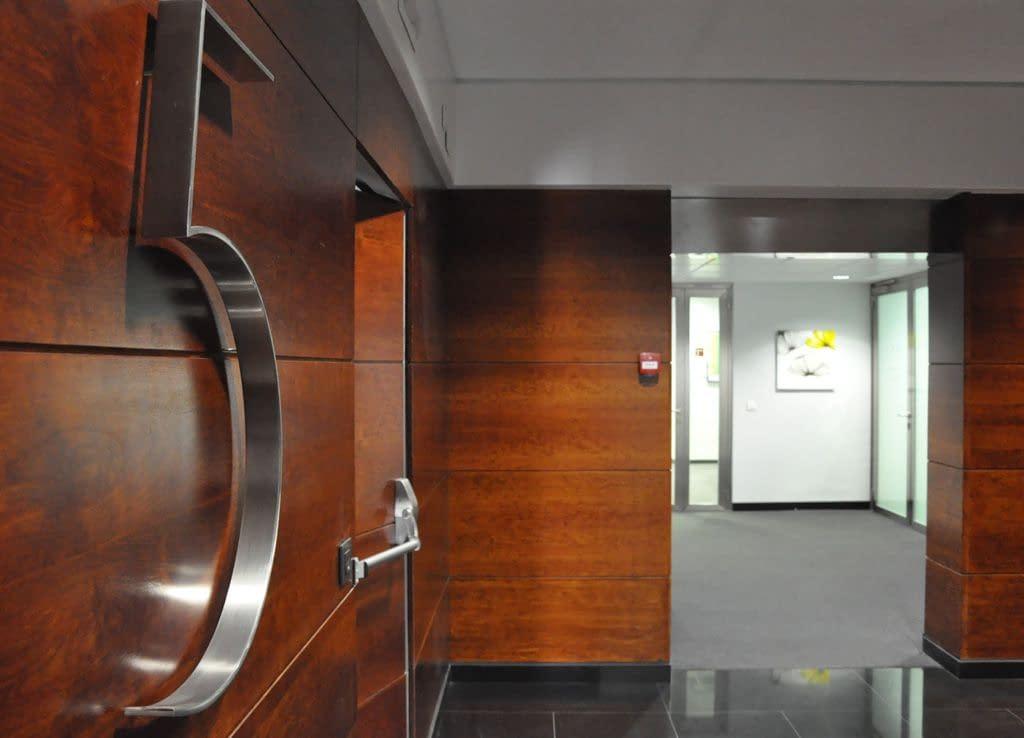 Vestíbulo 5 rehabilitación edificio de oficinas Barrio de Salamanca, Madrid