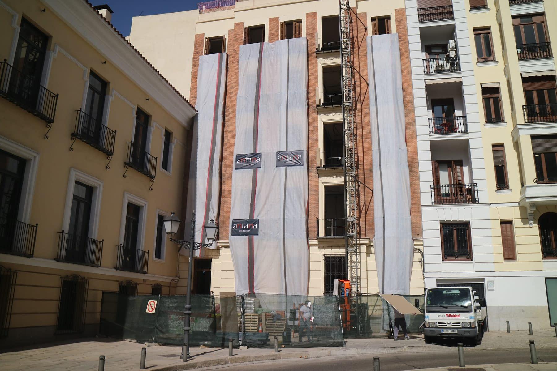 Rehabilitación integral edificio madrid Antonio Maura 8 (90)