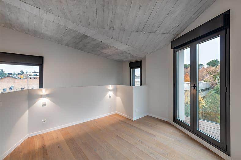 Construcción vivienda unifamiliar en Puerta de Hierro, Madrid (15)