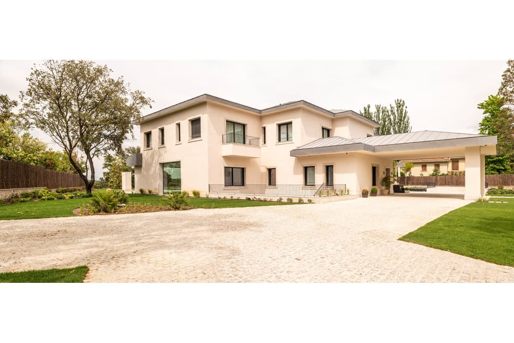 Construcción Vivienda Unifamiliar en La Florida, Madrid (2)