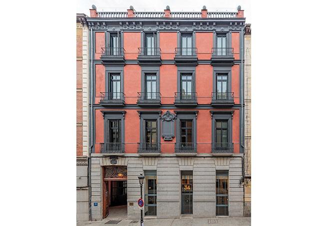Rehabilitación integral de edificio en Hotel en Madrid 15