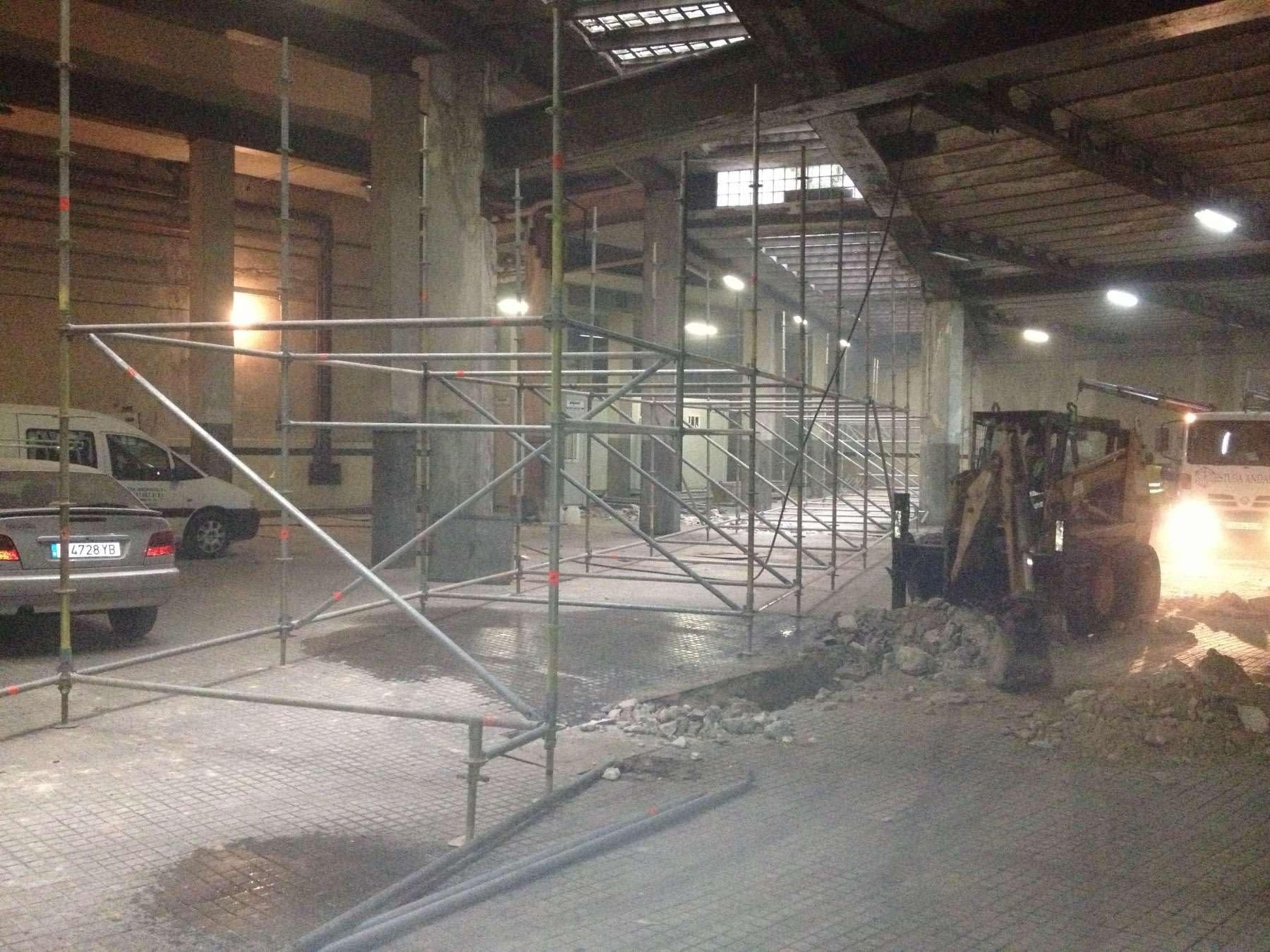 Saneamiento rehabilitación de edificio de uso mixto en Arganzuela, Madrid