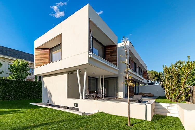 Construcción vivienda unifamiliar en Aravaca, Madrid (2)