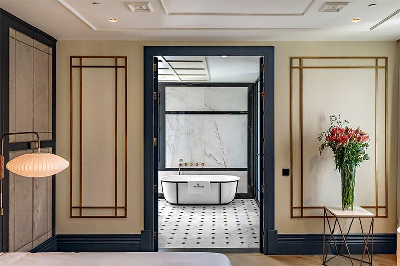 Rehabilitación integral de edificio en Hotel en Madrid 9