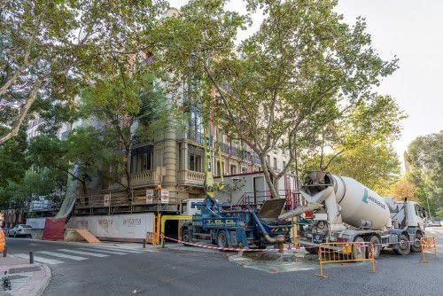 , Rehabilitación de edificio en el barrio de los Jerónimos