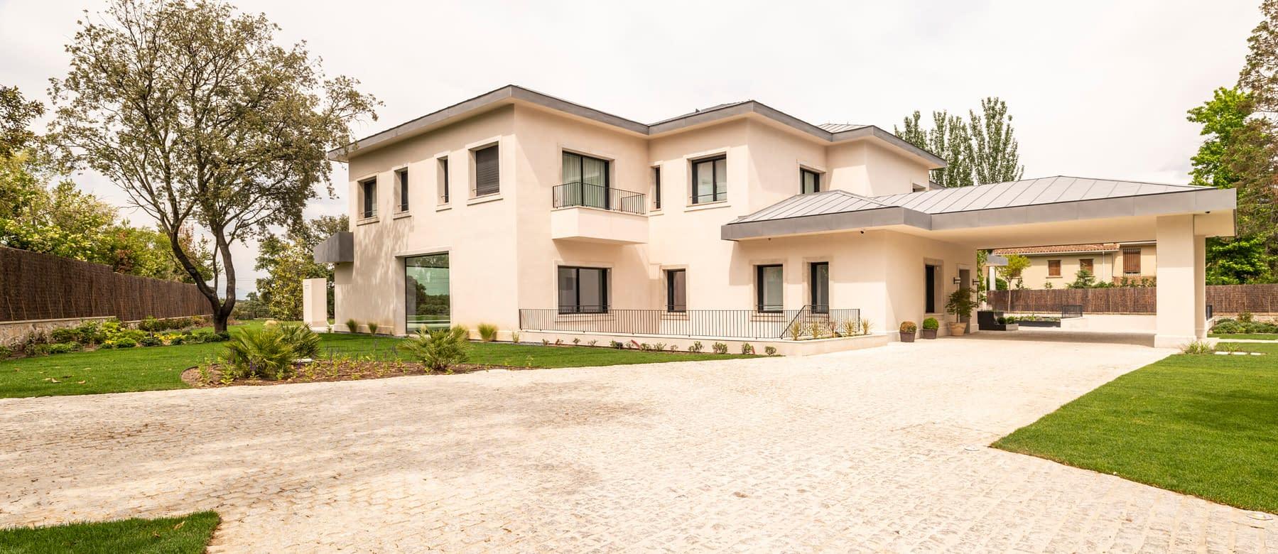 Construcción vivienda unifamiliar en La Florida, Madrid