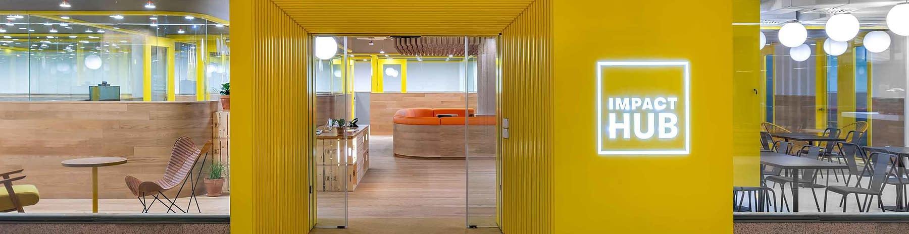 Reforma e implantación oficinas coworking Madrid (1)