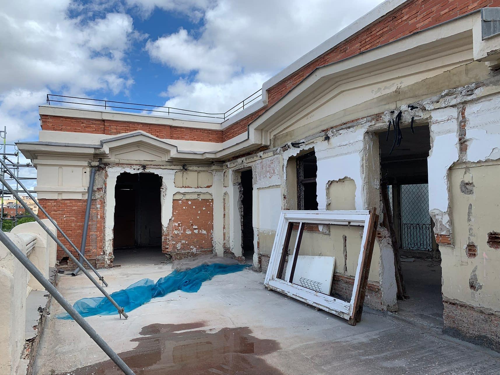 Rehabilitación integral edificio Marqués de Salamanca 11 (1 (119)