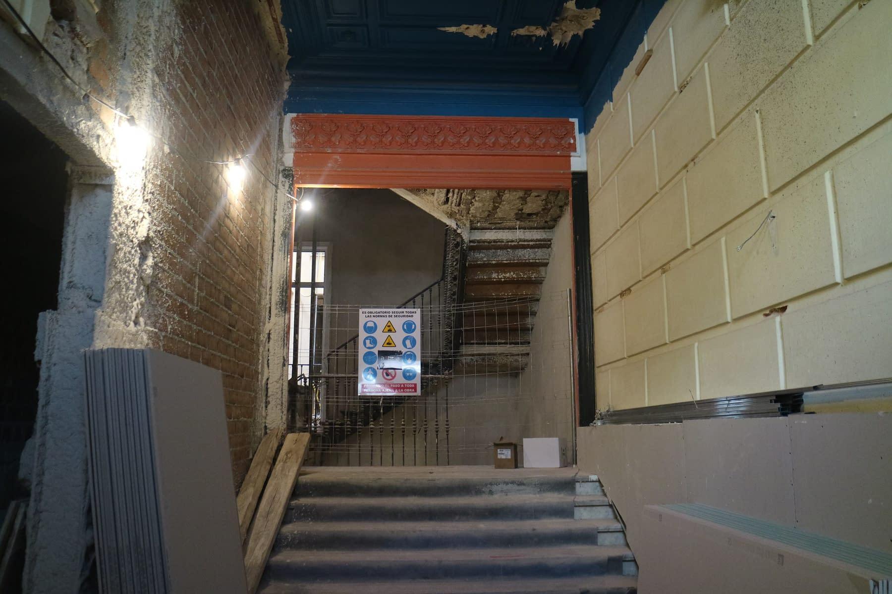 Rehabilitación integral edificio madrid Antonio Maura 8 (78)